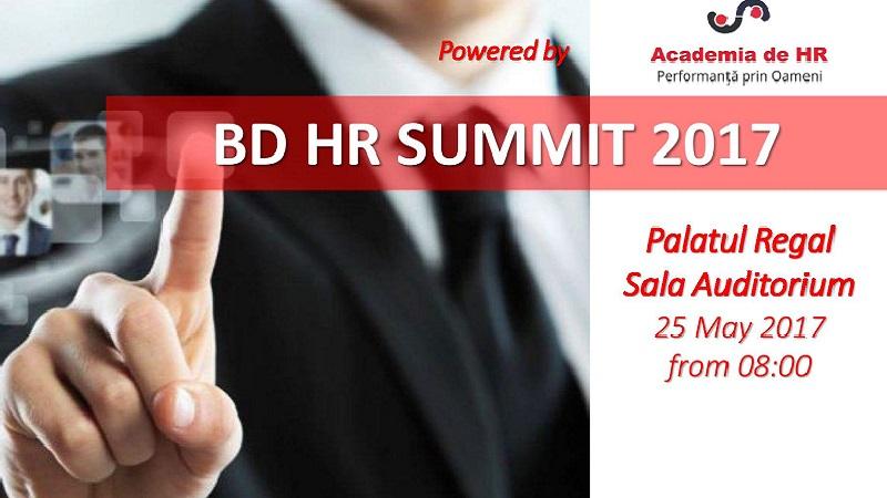 25 Mai 2017 - BD HR Summit 2017